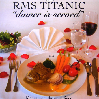 Titanic - Dinner is Served - Hardbook